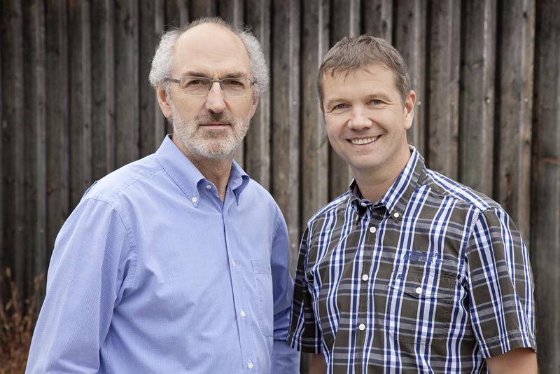 Martin Finauer und Johann Huber